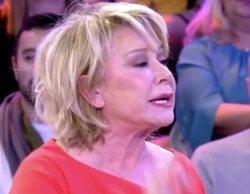 """Mila Ximénez abandona el plató de 'Sábado deluxe' tras una gran bronca con Carlos Lozano: """"¡A la mierda todo!"""""""