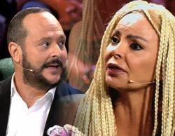 'Supervivientes 2018': Nacho Montes le arranca la peluca a Leticia Sabater en pleno directo