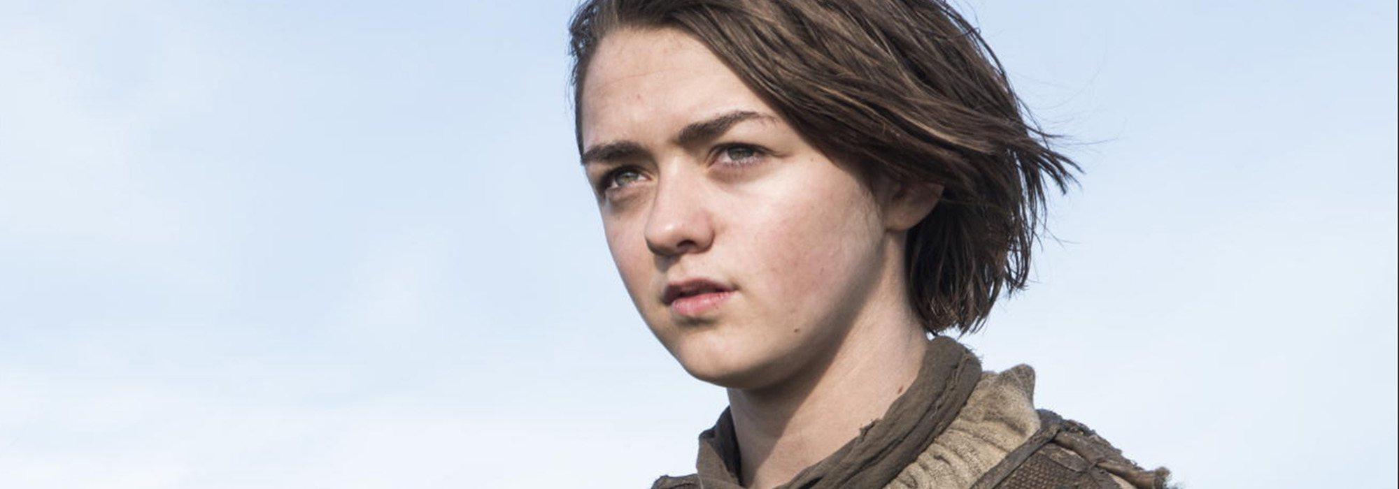 Arya Stark como personaje fuerte femenino en 'Juego de Tronos'