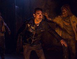 Rick y Negan se enfrentan cuerpo a cuerpo en el 8x12 de 'The Walking Dead'