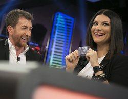 """La curiosa proposición de Laura Pausini a Pablo Motos en 'El hormiguero': """"Vámonos a Italia"""""""