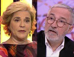 Xavier Sardà y Pilar Rahola se enzarzan en RAC1 por el discurso de Rosa María Sardà contra el independentismo