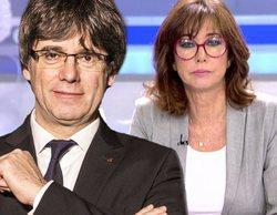 Puigdemont denuncia a Ana Rosa Quintana por difundir sus mensajes con Comín