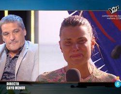 """Gustavo González habla en directo con María Lapiedra en 'Conexión Honduras': """"Si no me llevan, iré a nado"""""""