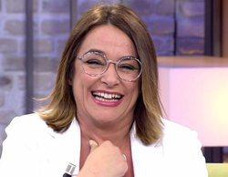 """El ataque de risa de Toñi Moreno al ver el maquillaje de Pilar Vidal en 'Viva la vida': """"No te enfades"""""""