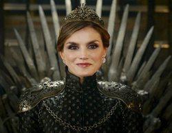 Los mejores memes televisivos de la bronca entre la reina Letizia y doña Sofía
