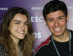 Eurovisión 2018: Amaia protagoniza una divertida entrevista en inglés en el inicio de su gira europea