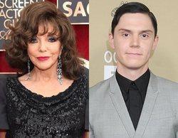 'American Horror Story': Ryan Murphy revela que Joan Collins será la abuela del personaje de Evan Peters