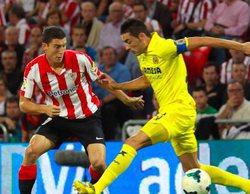 El Villarreal - Athletic Club de Bilbao (4,1%) en Gol asciende a lo más visto del día