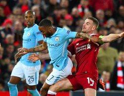El resumen del Manchester City - Liverpool (5,4%) en Mega arrasa y roza el millón de espectadores