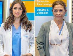 """'Centro médico' presenta los personajes de Lolita y Elena Furiase: """"Esto va a ser un empujón para la serie"""""""