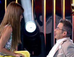 """Isa Pantoja invita en directo a Jorge Javier Vázquez a su boda: """"Quiero que estés, te tengo cariño"""""""