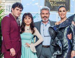 La primera edición de 'Maestros de la costura' se teje ante un gran 13,7% de audiencia media