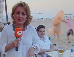 """Un pene gigante se cuela en un directo de 'Antena 3 noticias': """"Los directos de Cristina Aguirre son la po..."""""""