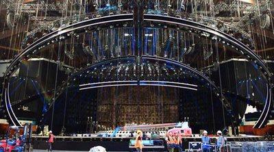 Eurovisión 2018: La construcción del escenario del Festival entra en su fase final