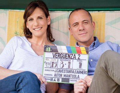 La segunda temporada de 'Vergüenza' inicia su rodaje con nuevas incorporaciones