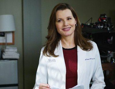 Geena Davis retomará su papel en 'Anatomía de Grey' durante un episodio