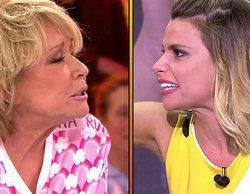 """Mila Ximénez estalla contra María Lapiedra: """"A mi edad vas a estar para descambiarte, con la vida que tienes"""""""
