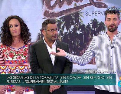 """Dulce, en pie de guerra contra Alejandro Albalá: """" No lo mato aquí en directo de milagro"""""""