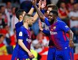 TVE camufla en pleno directo la pitada al himno de España en la Copa del Rey potenciando la música
