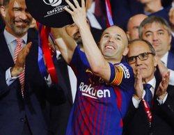 La Copa del Rey arrasa al firmar un 40,8% con su mejor dato en dos años
