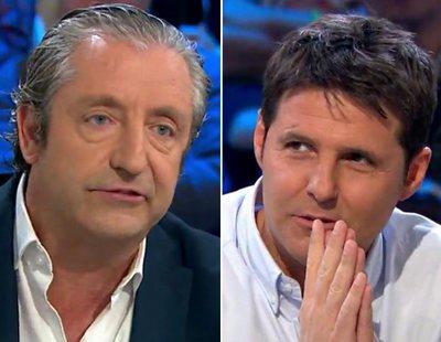 Josep Pedrerol y Jesús Cintora protagonizan un tenso rifirrafe en 'Liarla Pardo'