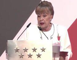 El emotivo discurso feminista de Gemma Cuervo al recibir la Medalla de Plata en la ceremonia del 2 de mayo