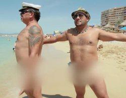 """Joaquín y Mariano protagonizan un surrealista desnudo integral en 'Los Gipsy Kings': """"Tenemos que desnatarnos"""""""