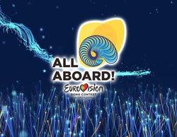 Así es el grafismo y las postales de Eurovisión 2018, que combina colores nacionales y temática marina