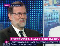 """Mariano Rajoy, a Susanna Griso en 'Espejo Público': """"Las buenas entrevistas son las que me hace usted"""""""