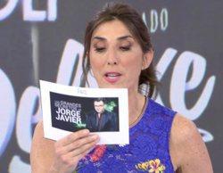 """Paz Padilla responde a un improvisado poli en 'Sálvame': """"¿Prefieres que te sustituya Jorge Javier o Carlota?"""""""