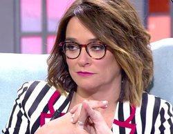 """Toñi Moreno, desquiciada tras una tensa discusión en 'Viva la vida': """"¿Te puedes callar, por favor?"""""""
