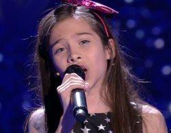 Melani se convierte en la ganadora más joven de 'La Voz Kids'