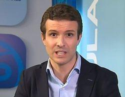 Los informativos de TVE esconden la polémica de Pablo Casado tras la salida hacia El Rocío