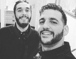 Fran Perea y Victor Elías se reencuentran 10 años después del final de 'Los Serrano'