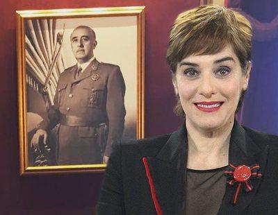 Anabel Alonso publica una fotografía de Franco con la que impresiona a sus seguidores