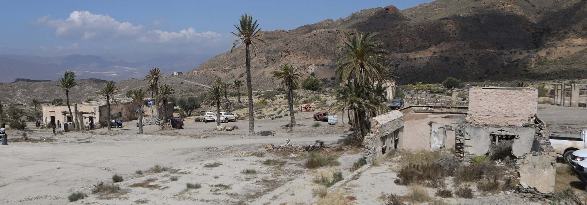 Making of de 'Los nuestros 2': Así se ha grabado la serie, transformando Almería en Raqqa (Siria)