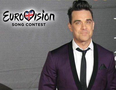Robbie Williams se plantea representar a Reino Unido en Eurovisión 2019