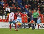El partido entre el Lugo y el Huesca (3,4%) destaca en Gol y 'Fatmagül' (4,5%) sigue brillando en Nova