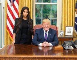 Kim Kardashian se reúne con Donald Trump en la Casa Blanca y recibe críticas por ello en redes