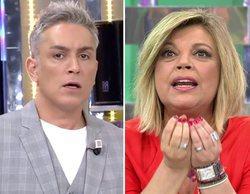 """'Sálvame': Terelu Campos le """"escupió un chicle en la cara"""" a un trabajador de Telemadrid, según Kiko Hernández"""