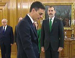 Pedro Sánchez, presidente del Gobierno: Así han cubierto las cadenas la toma de posesión del cargo