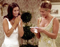 Jennifer Aniston será la dama de honor en la boda de Courteney Cox como ya ocurrió en 'Friends'