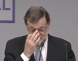 Mariano Rajoy dimite y deja la presidencia del PP: TVE, única cadena que no emite la comparecencia en directo