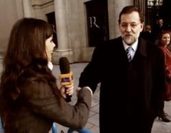 Mariano Rajoy acompañó a Cristina Pedroche en su primera experiencia en televisión con 'Sé lo que hicisteis..'