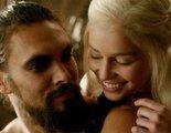 'Juego de Tronos': Jason Momoa, Emilia Clarke y Kit Harington se reencuentran en el Trono de Hierro