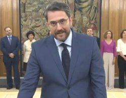 """Màxim Huerta promete su cargo como ministro y se defiende de las críticas: """"Voy a mimar el deporte"""""""