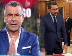 Jorge Javier Vázquez felicita en directo a Màxim Huerta tras su reciente nombramiento como Ministro de Cultura