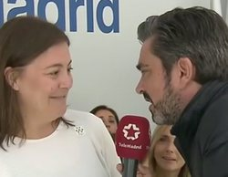 """'Zapeando' recoge la tensa entrevista a la hija de Florentino Pérez en Telemadrid: """"No suelta prenda"""""""