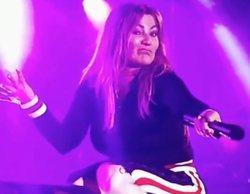 """Amaia Montero, a 'Cazamariposas' tras su polémico concierto: """"Era evidentísimo que tuve problemas de sonido"""""""